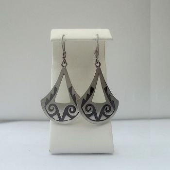 Hopi Style Bell shaped Earrings